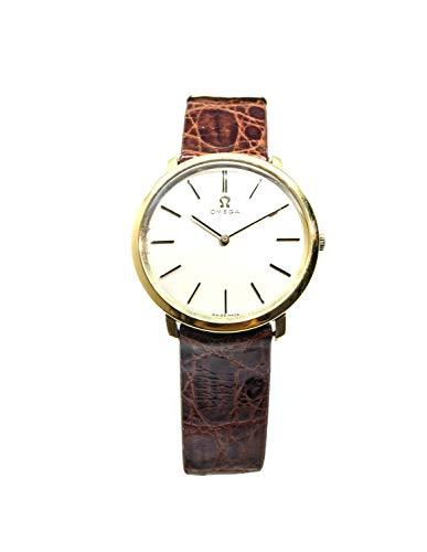 Reloj Omega Vintage de oro con movimiento mecánico