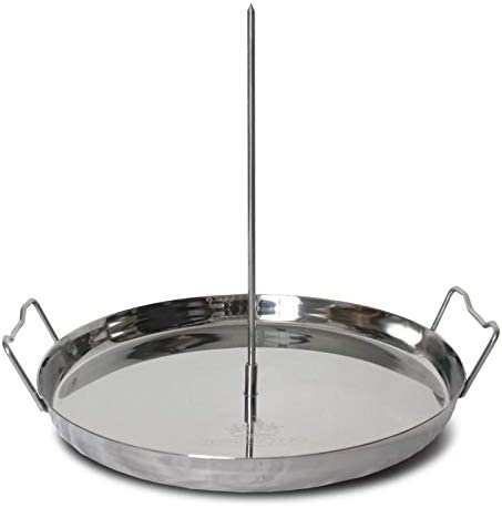Trompo King Stainless Vertical Skewer for Barbecue Grill Great for Tacos Al Pastor Shawarma product image