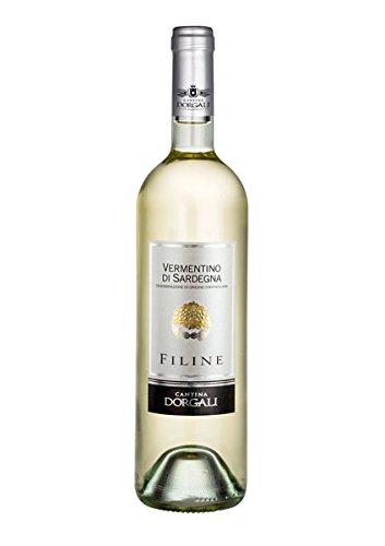 6 x 0.75 l - Filine, Vermentino di Sardegna Doc, Vino bianco sardo prodotto dalla cantina di Dorgali