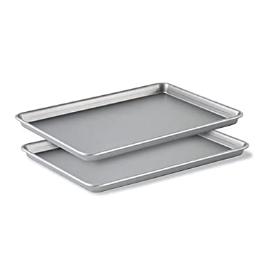 Calphalon Nonstick Bakeware, Baking Sheet, 2-Piece Set