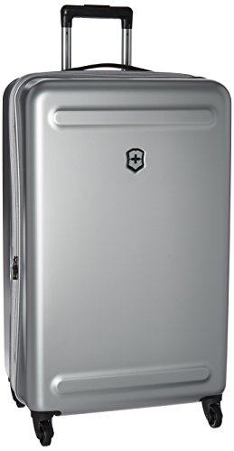 Victorinox Etherius Hardside Expandable Spinner Luggage, Silver, Checked-Large (30')