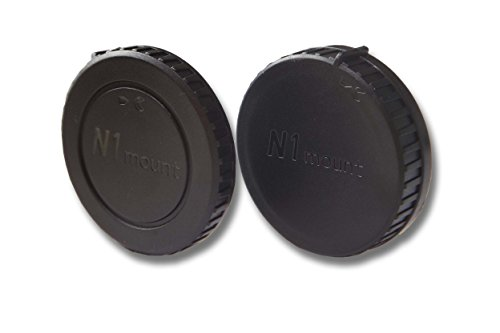 vhbw Objektiv Deckel Set passend für Kamera Nikon Nikkor 1 J1, 1 J2, 1 V1, 1 V2 mit Nikon 1-System.
