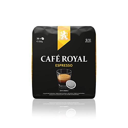 Café Royal Espresso 360 kompatible Kaffeepads für Senseo®*, Intensität 5/10, 10er Pack (10 x 36 Kaffee-Pads), 2500 g