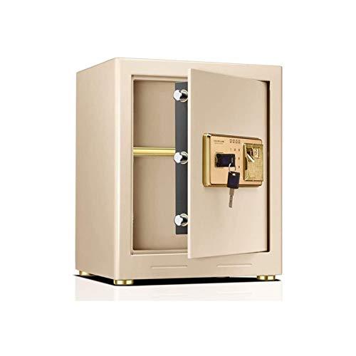 HIZLJJ Cajas Fuertes, Caja Fuerte Digital, Extra-Grande, Acero, Teclado, protección de Dinero, joyería, pasaportes para el hogar o Las Empresas
