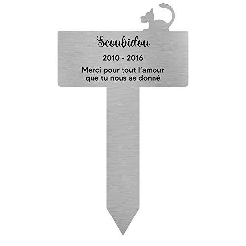 DECOHO Plaque funéraire Personnalisable pour...