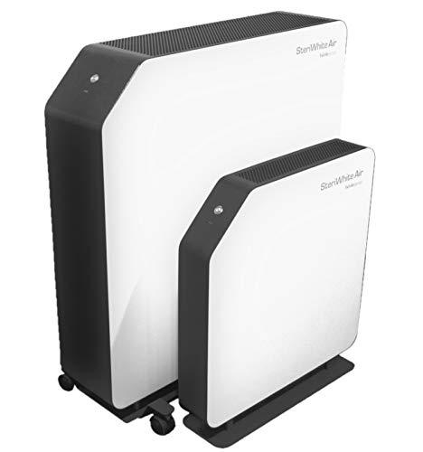 SteriWhite Air Hönle UV-C Luftreiniger mit Standfuß | UV Licht neutralisiert Viren bis zu 99,9{a42bb674e2e26c6e1af285b7d377d2c489a088b663932d686f18abaa52ea6cfa} | UV Lampen Luftreinigung, Luftentkeimung, flüster-leise ganz ohne Hepa-Filter Luft desinfizieren