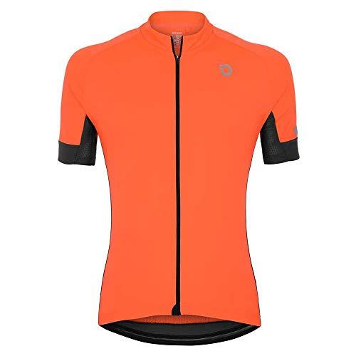 Briko Classic Side Jersey, 956 Arancione Fiamma, Taglia L