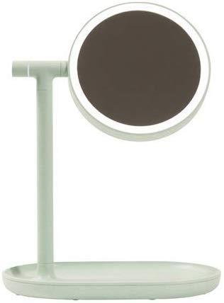 Panduo Lampe de Table Miroir cosmétique LED chiquenaude Creative Lumière Chargeur de Bureau loupe Princesse Coiffeuse Lampe de Bureau de Rangement for Une variété d'occasions