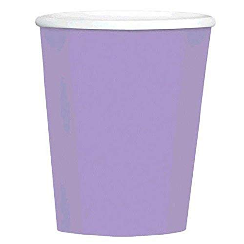 Big Party Pack Paper Coffee Cups   12 oz.   Lavender   Pack of 40   Party Supply