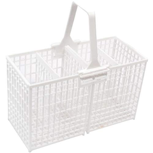 Spares2go Couverts Panier pour Whirlpool lave-vaisselle (Blanc)