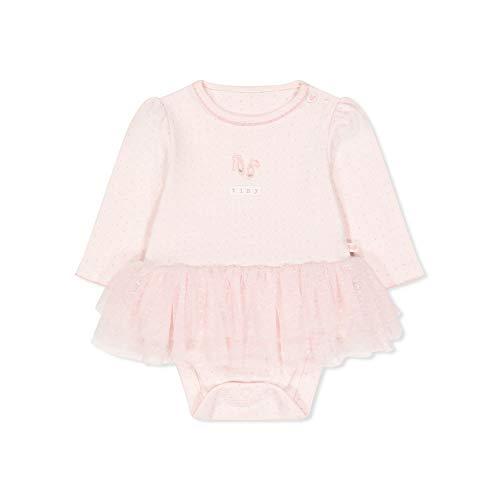 Mothercare Io NB Mfg LS Ballet Tutu Body, Nero (Pink 130), 9-12 Months (Manufacturer Size:80) Unisex-Bimbi