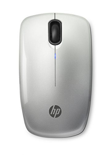 HP Z3200 (N4G84AA) kabellose Maus (Wireless, USB-Anschluss, Optische Tracking Technologie, 1200 dpi, 3-Tasten-Design, Standard Scroll Rad) silber