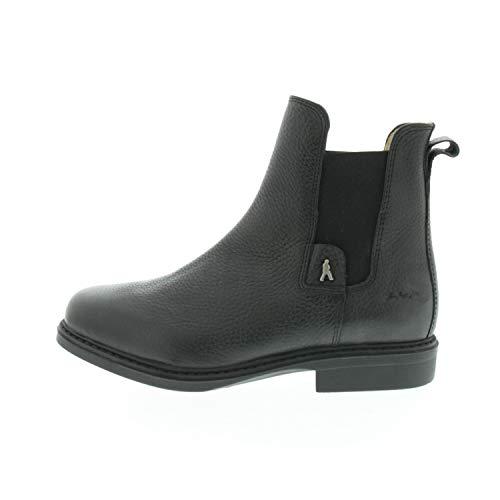 Hobo Herrenschuhe Chelsea Boots ADAN HGred Premium Schwarz Torro 104381761003 (Numeric_38)