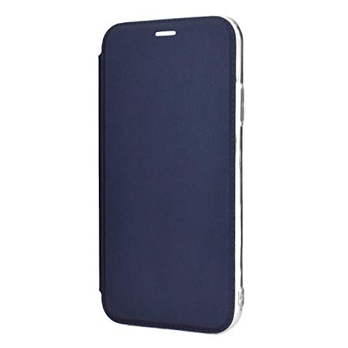 Hülle® Ultra Thin PU TPU Flip Case with Card Slot and Stand Function for Samsung Galaxy S9 Plus(Dark Blue)