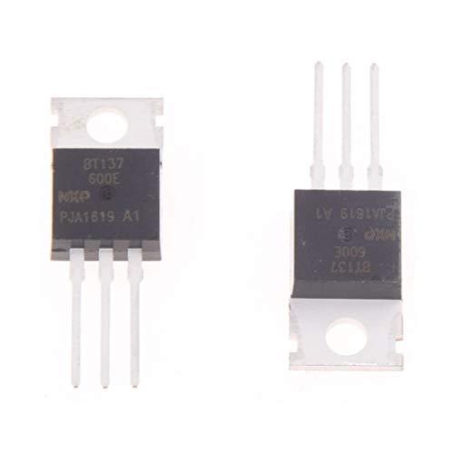 MERSUII10pzs 600V 8A SCR Tiristor Triacs de puerta sensible BT137-600E