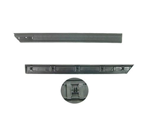 MS autoonderdelen 1295285 sierlijst deur, achter, rechts, zwart