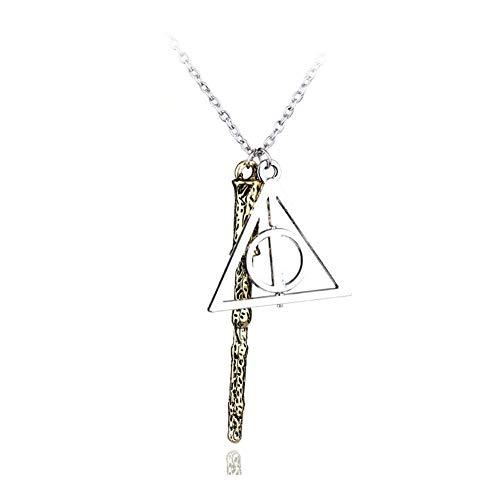 AdorabFruit Présent Pendentif Colgante, Collar de Moda Retro Collar de Oro de la Vendimia for Hombres Mujeres Accesorios Encanto de la joyería