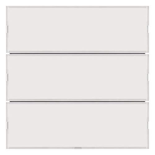 Hager 80163780 – toetsenbord 3 fasen, S/B, wit/wit Polar