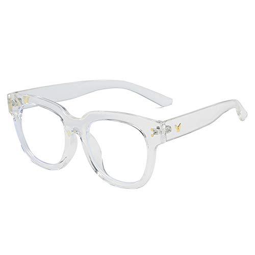 Hao-zhuokun Gafas de Bloqueo de luz Azul,Gafas antifatiga,Gafas antideslumbrantes,Gafas para Juegos de Lectura de computadora,Accesorios de Moda para Mujeres o Hombres