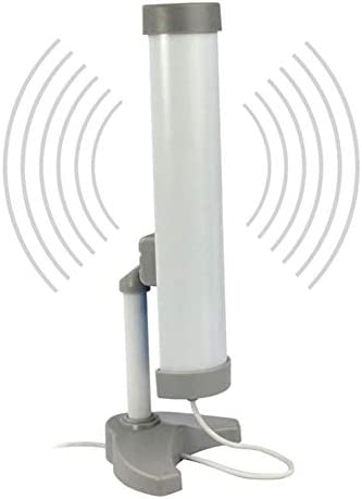 ZXCV Adaptador WiFi inalámbrico con Antena de Clipper USB 58DBI 58DBI de Largo Alcance (3 km) de Alta Potencia (5800MW)