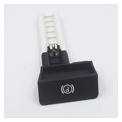LMMY Freno de estacionamiento Handbrake Manill Knob Switch Switch Fit para VW/Volkswagen/Touareg 2002 2003 2004 2005 2006 20007 2008-2010 7L6711878F