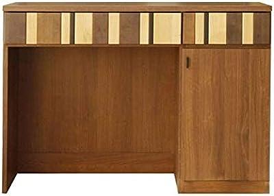 ガルト(Gart) 食器棚 ブラウン 幅120cm ルカ オープンカウンター