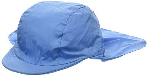 Sterntaler Schirmmütze mit Nackenschutz, Alter: 4-6 Jahre, Größe: 55, Samtblau