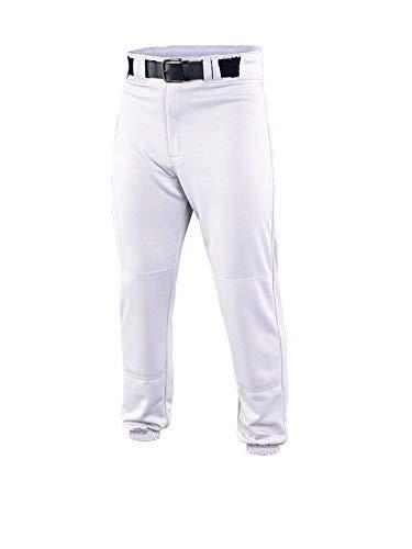 EASTON DELUXE Baseball Pant, Youth, Medium, White