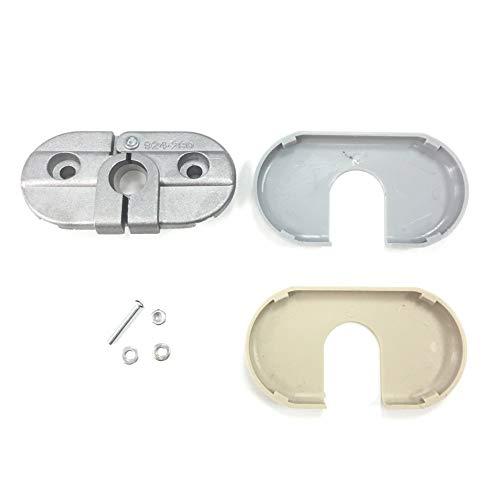 ZM Auto Parts Sun Visor Sunvisor Support Bracket & Cover Repair Kit Driver Left...