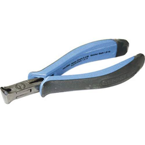 Gedore, Alicates para electrónica y mecánica fina, tipo para corte frontal oblicuo de hilos duros de acero, longitud = 135 mm.
