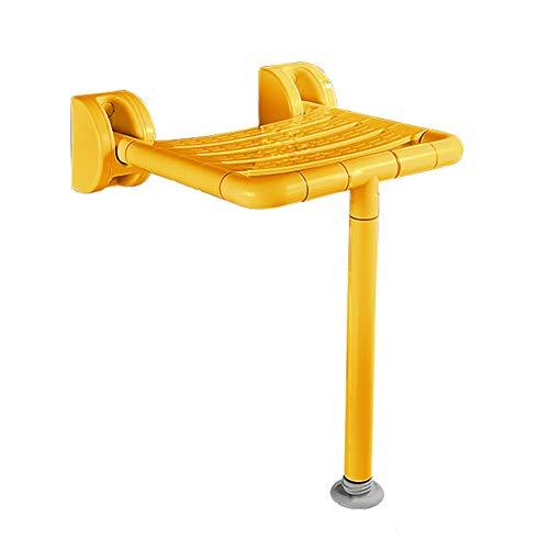 LXYYSG Duschklappsitz, Wandmontage Duschhocker Badhocker Duschklappsitz klappbar mit rutschhemmenden Füßen, für Schwangere, Senioren, Behindert