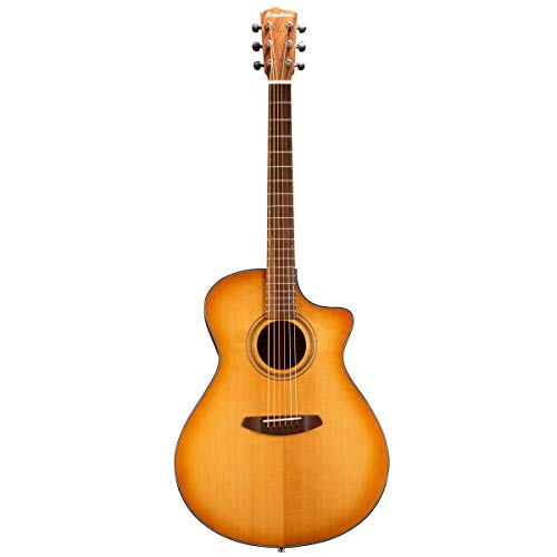Breedlove Organic Series Signature Concerto CE All Solid Torrefied European / African Mahagony Akustik E-Gitarre