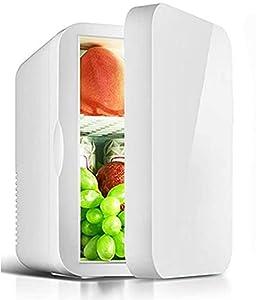 LZXH Réfrigérateur de Voiture Réfrigérateur cosmétique Portable, Mini réfrigérateur, Petit réfrigérateur Silencieux avec Panier de Rangement, pour Maquillage, pour Bar de Voiture de Chambre, 6 L