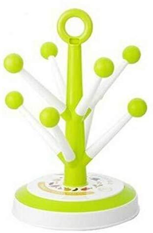 Crazywind - Soporte para Tazas de Vino, diseño de árbol, Verde, 8digits