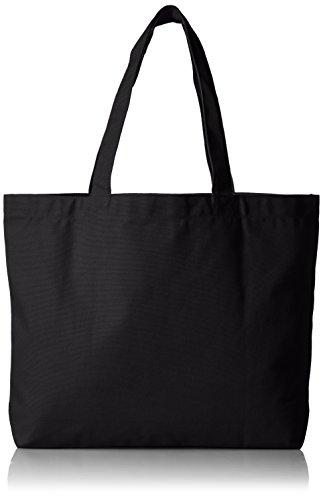 [ユナイテッドアスレ] (ユナイテッドアスレ)14.3オンス キャンバス トートバッグ(大) 151801 ブラック