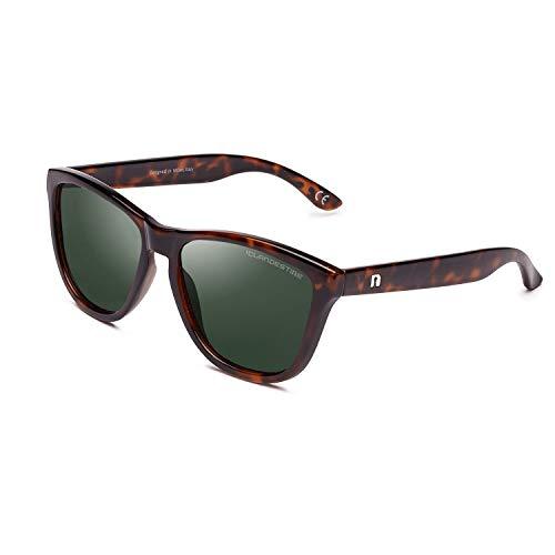 CLANDESTINE Model Habana Dark Green - Gafas de Sol de Nylon HD para Hombre & Mujer