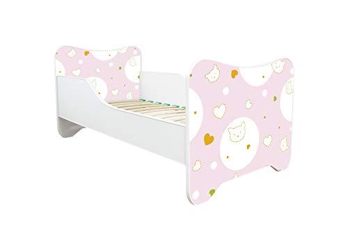 Topbeds Lit Enfant Bébé 160x80 + Matelas - Neuf - Designs DE Nombreux (Kitty)