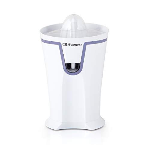 Orbegozo EP 2350 - Exprimidor zumo eléctrico de naranjas, sistema de extracción continua y antigoteo, 2 conos para piezas de distinto tamaño, rotación bidireccional