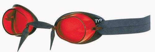 TYR Rockets 2.6 Gafas de Natación, Unisex niños, Rojo, Talla Única