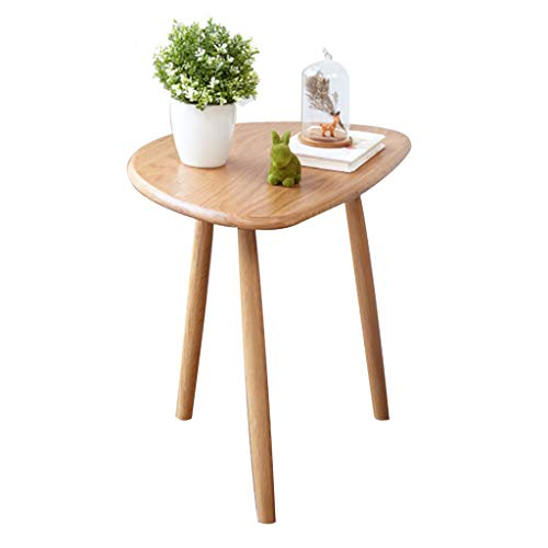 Tables Table Basse Table De Téléphone Table De Chevet Coin Nordique Côté Bois Massif Triangle Salon Table D'appoint Canapé Vert Table Minimaliste Moderne Tables de dos de canapé