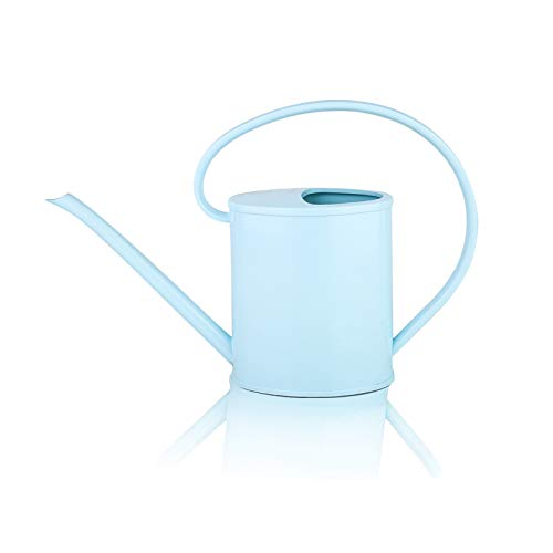 Fusolo Watering cans for Indoor Plants 1.2L with Long Spout Small Watering Pot (1.2 L, Light Blue)