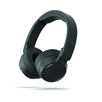 Mixx AX1 - Active Noise Cancelling Wireless Headphones - Bluetooth 5.0 Headphones On Ear with Mic, Hi-Fi Deep Bass, 20H Playtime, Foldable Wired/Wireless Headset, Adult/Teens Work Travel Online Class by Mixx Ltd