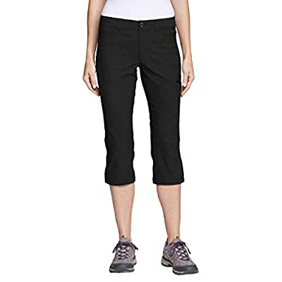 Eddie Bauer Ladies' Rainier Capri (6, Black)