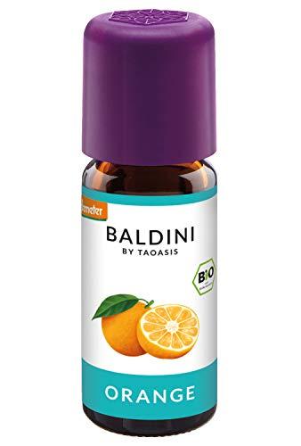 Baldini - Orangenöl BIO, 100% naturreines ätherisches BIO Orangen Öl, Bio Aroma, 10 ml