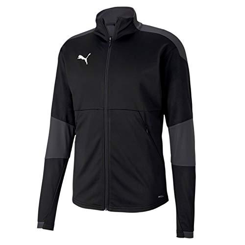 PUMA Herren, teamFINAL 21 Training Jacket Trainingsjacke, Black-Asphalt, M