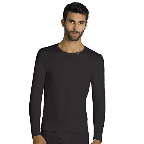 Camiseta Termica Manga Larga Ysabel Mora (Negro, L)