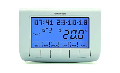 FANTINI COSMI CH140GSM2 GSM-Chronothermostat, 230 V, Weiß