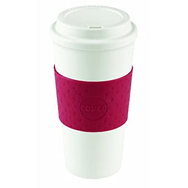 Copco Acadia Travel Mug, 16-Ounce, Cherry Red