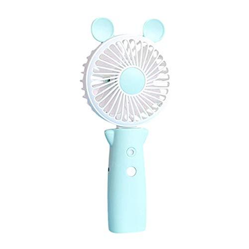 Mini Ventilador portátil de Mano del Ventilador Ultra silencioso Personal de Carga USB humidificación Spray de Ventilador pequeño acondicionador de Aire Acondicionado
