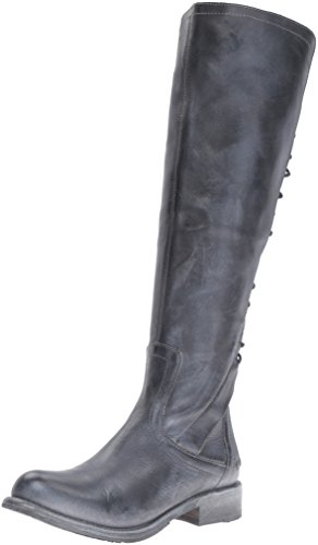 BED STU Women's Surrey Boot, Black Rustic/Blue, 7.5 M US